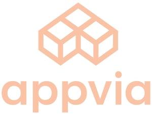 Appvia Logo Color Vertical Peach